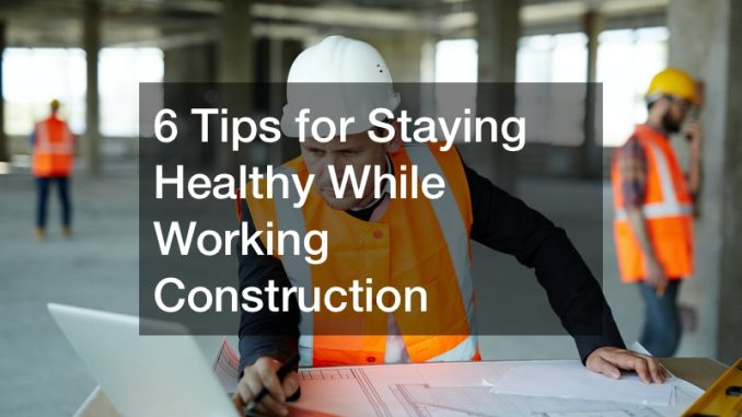 tips for being healthy at work